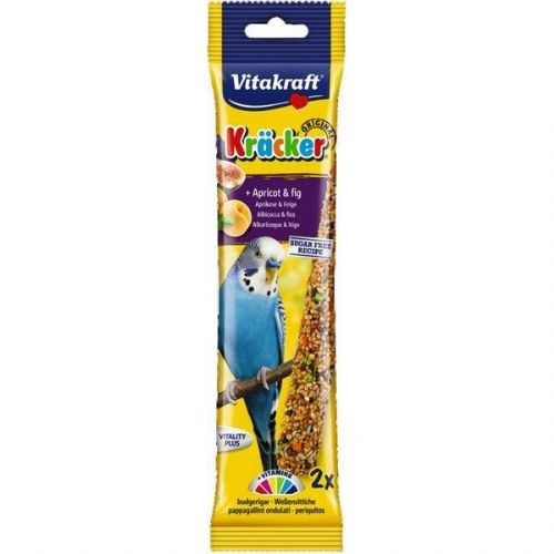 Vitakraft Budgie Kracker Apricot & Fig (2Pk)